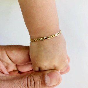 Babies/Girls Gold Filled Bracelet